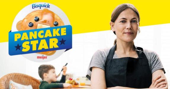 > Bisquick Pancake Star Sweepstakes – Chance to Win a $1,000 Meijer Gift Card