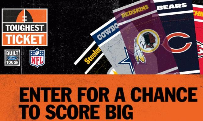 2018 NFL Toughest Ticket Season Ticket Giveaway – Stand Chance to Win Season Tickets for Your Favorite NFL Team's 2018 Season