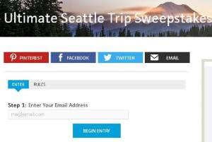 Travel Channel's Ultimate Seattle Trip Sweepstakes – Chance to Win Ten Thousand Dollars ($10,000) Check
