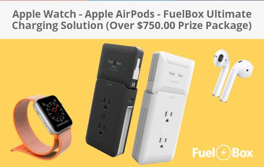 Huge Apple Fuelbox Package Giveaway – Enter For Chance To Win AirPods