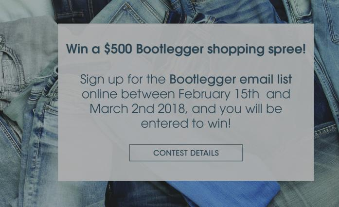 Share Your Fashion Feedback & Win Official Contest – Stand Chance to Win $150 Bootlegger Gift Card