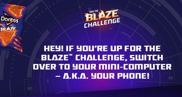 Doritos Blazin' Beats Game Sweepstakes – Stand Chance to Win Leaderboard Prizes, Daily Random Drawing Prizes