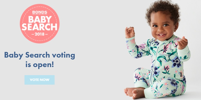 Bonds Baby Search 2018 Competition – Enter For Chance To Win Daily Prizes