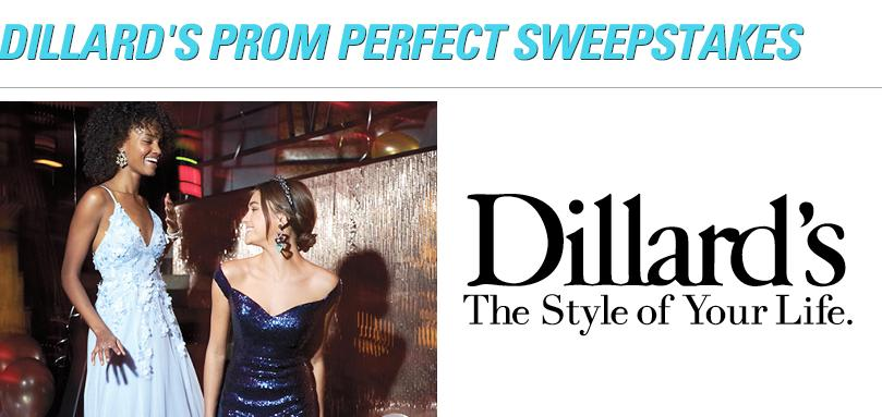 Seventeen Dillard's Prom Perfect Sweepstakes- Chance To Win Dillard's Gift Card $1000, Promotional Gift From Seventeen Style Pro $10