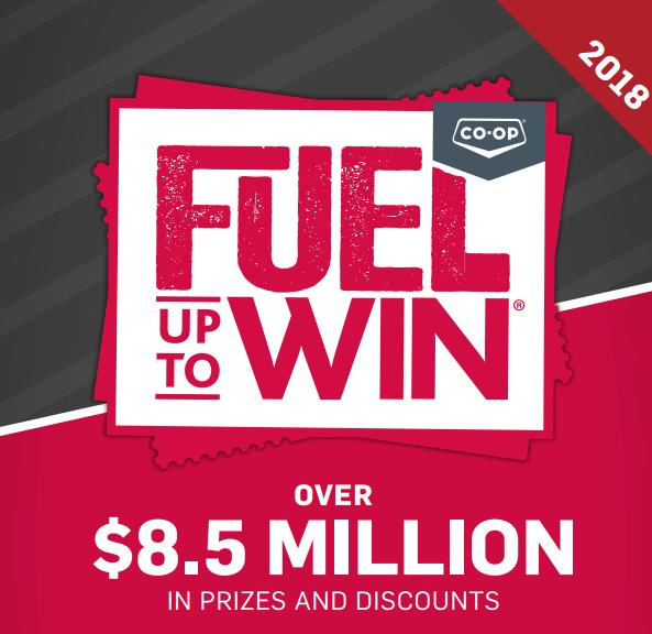 CO-OP Fuel up to Win 2018 Contest – Stand Chance to Win Prizes in 29,952,000 Game Tickets