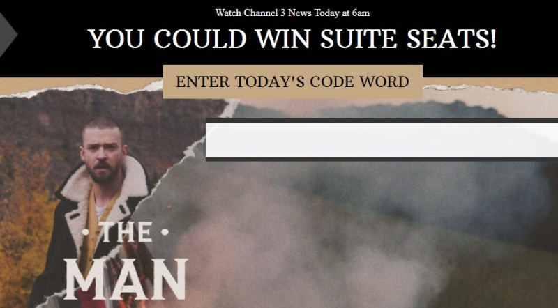 Suite Life With JT Sweepstakes – Win 2 Suite Tickets To to Justin Timberlake Concert