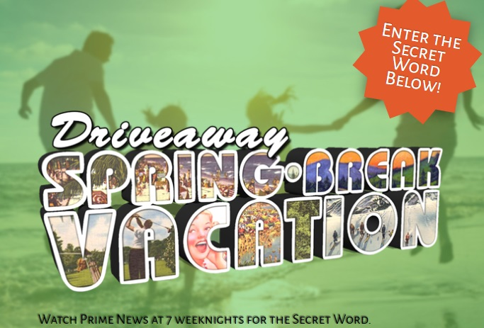 WDEF.com Contest - Enter For Chance To Win Driveaway Spring Break Vacation Contest