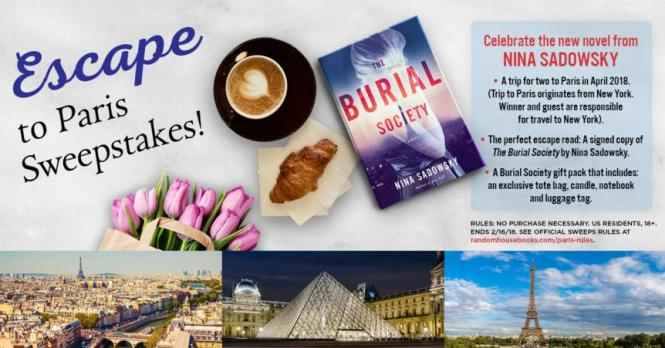 Penguin Random House Escape to Paris Sweepstakes – Stand Chance to Win a Trip to Paris for two