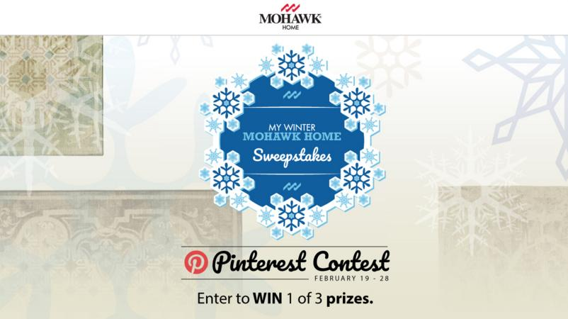 My Winter Mohawk Home Pinterest Sweepstakes – Enter For Chance To Win An Area Rug