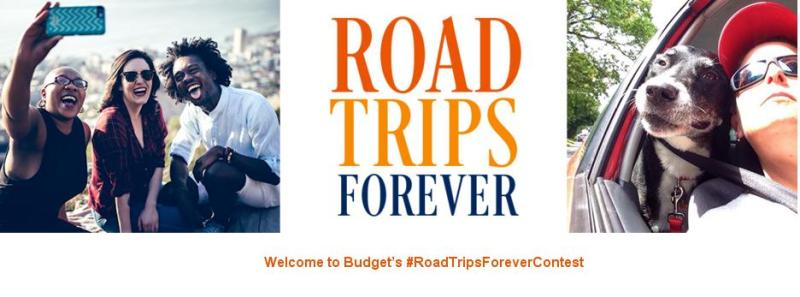 Budget Road Trips Forever Contest – Stand Chance to Win Budget Car Rental, Reward Day Certificates, $500 Visa Gift Card