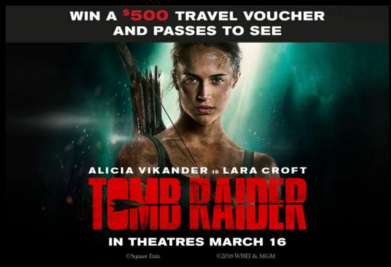 Exclaim Media Tomb Raider Contest - Enter For Chance To Win Screening Passes