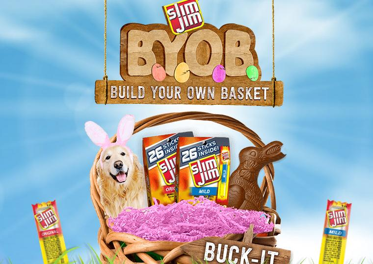 Slim Jim Build Your Own Basket Sweepstakes – Stand Chance to Win $100 Walmart eGift Card