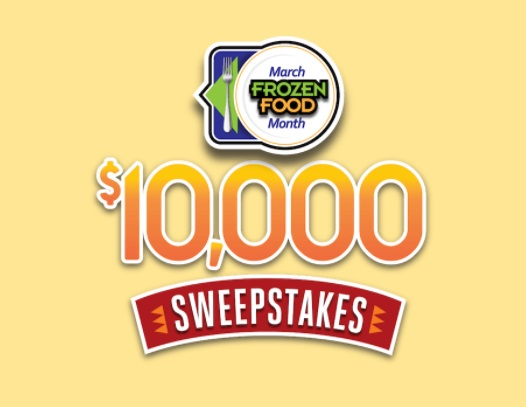 Easy Home Meals March Frozen Food Month Sweepstakes - Enter To Win Grand Prize Of $10,000