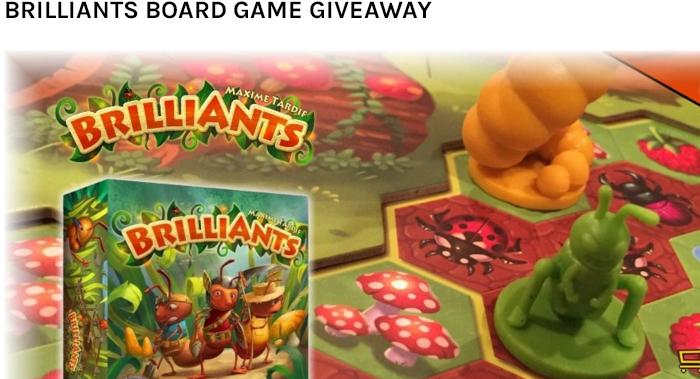 Shopville Brilliants Board Game Giveaway – Stand Chance to Win BrilliAnts Board Game Prize