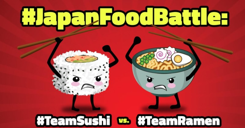 Japan Food Battle Sweepstakes - Enter For Chance To Win A Trip To Tokyo, Japan