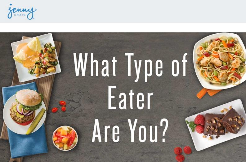 Eating Style Quiz Sweepstakes- Chance To Win Four Prizes Consisting of $2500 each