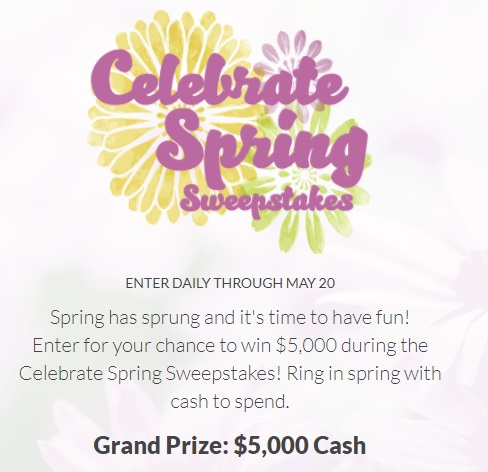 Jewelry TV Celebrate Spring Sweepstakes - Enter To Have A Chance To Win $5,000