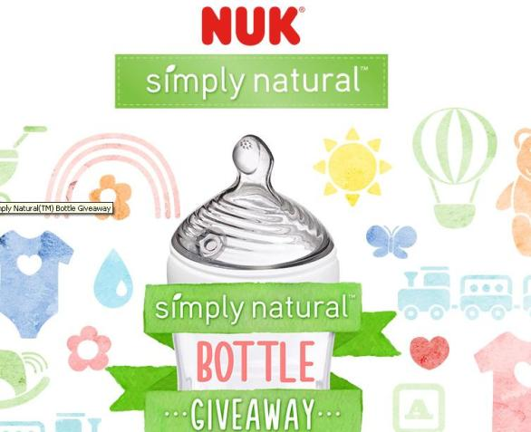 NUK Simply Natural Bottle & Gift Card Giveaway – Stand Chance to Win $500 Gift Cards