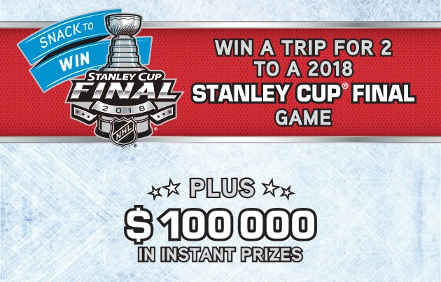 Oikos Snack To Win Contest - Chance to Win A Trip To Stanley Cup Final Game
