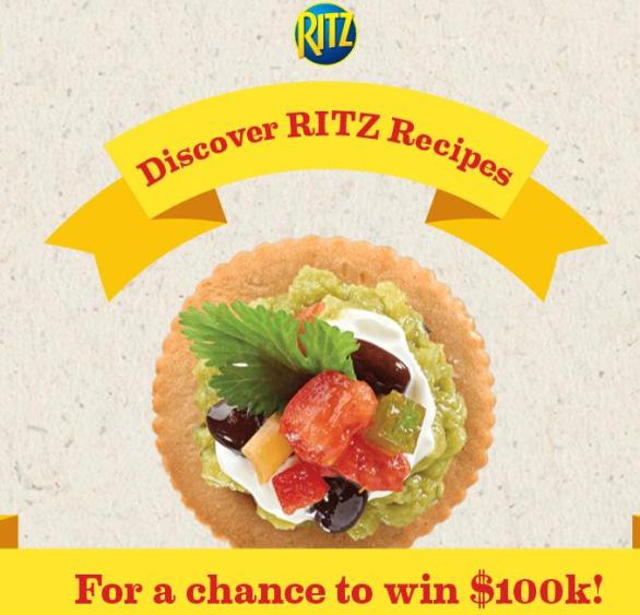 Top Your RITZ Scan Sweepstakes 2018 - Stand To Have A chance To Win $100k