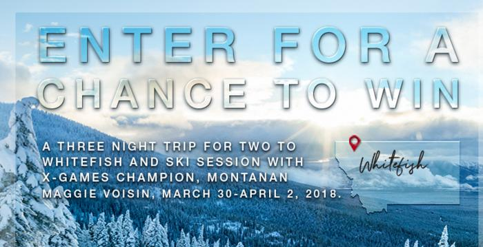 Visit Montana Ski with a Champion Sweepstakes – Stand Chance to Win a Trip to Whitefish, Montana