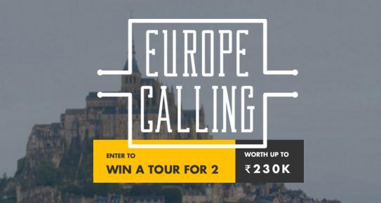 TourRadar contest - Enter To Have A Chance To Win a European Tour for 2