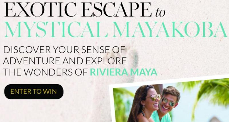 Spa Week Exotic Escape Giveaway - Enter For Chance To Win A Trip To Fairmont Mayakoba
