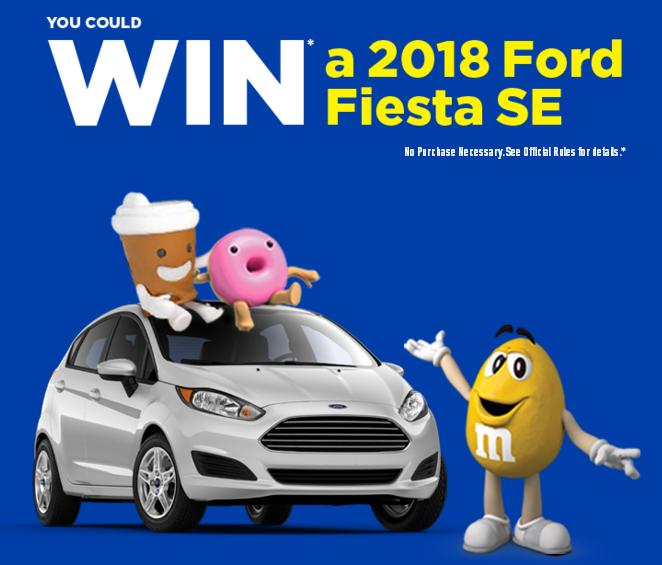 The Win A 2018 Ford Fiesta SE Giveaway – Stand Chance to Win 2018 Ford Fiesta SEs