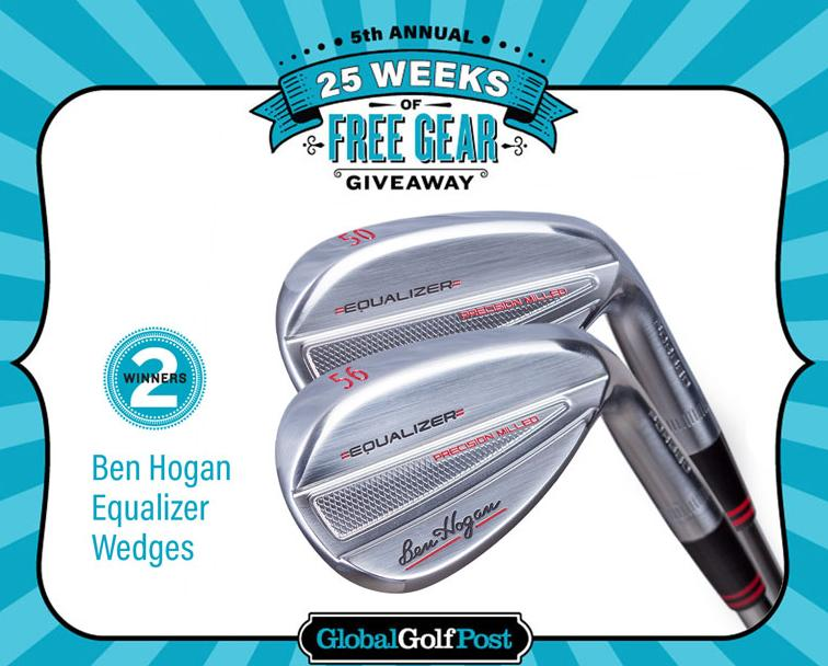 Global Golf Post 25 Weeks Of Free Gear Giveaway – Stand Chance to Win A Set Of Ben Hogan Equalizer Wedges