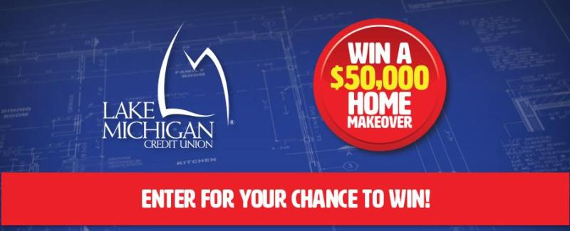 Lake Michigan Home Makeover Sweepstakes - Enter To Win $50,000 For Home Makeover