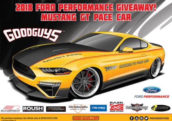 Goodguys Ford Performance Mustang GT Giveaway – Stand Chance to Win 2018 Ford Performance Mustang Prize