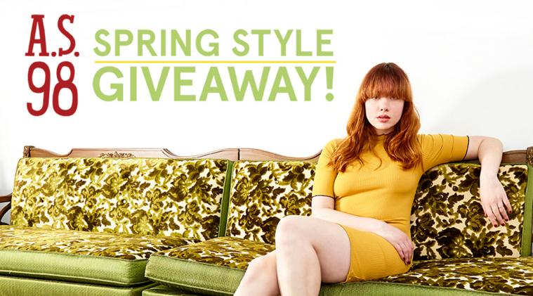 Spring Style Giveaway-Enter To Have A Chance TO Win An A.S.98 Spring Style Package