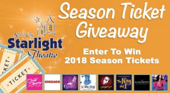 Starlight Theatre Season Ticket Giveaway – Stand Chance to Win A Grand Prize of Two Season Pass Tickets