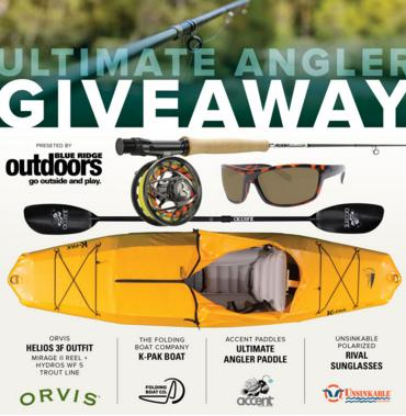 Blue Ridge Outdoors Ultimate Angler Giveaway - Chance To Win $2600 Worth Ff Gear To One Lucky Angler