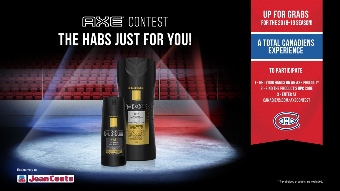 NHL The Habs Just For You Contest – Win A VIP Bell Centre