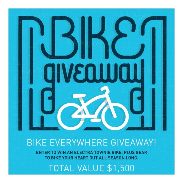 Polar Bottle Bike Everywhere Giveaway-Enter To Win An Electra Townie Bike, Bern Helmets, Lems Shoes, Jungmaven, Kryptonite, Nite Ize and Green Guru