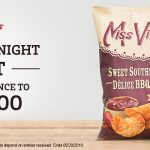 Miss Vickie's Let's Stay In Tonight Contest-Chance To Win $1000 Cash Prize