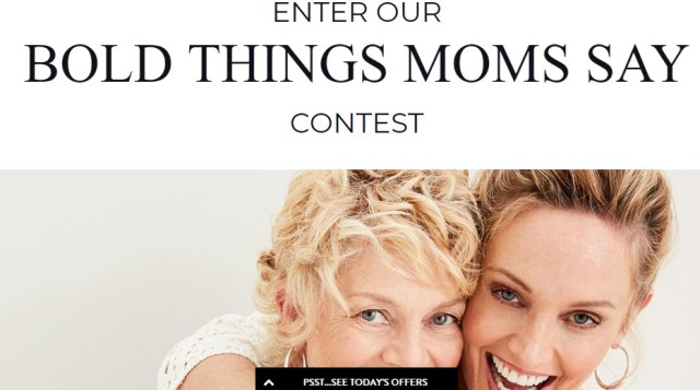 Chicos Bold Things Moms Say Contest- Enter To Win $500 Chico's Gift Card