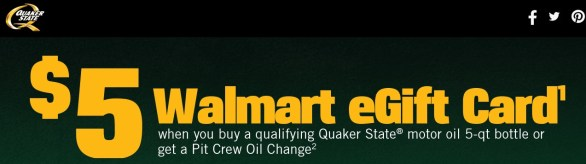Walmart Quaker State 400 Sweepstakes-Enter To Win A Trip To Quaker State