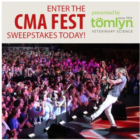 Tomlyn CMA Fest Sweepstakes – Stand Chance To Win A Trip Package To Nashville, TN