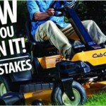 WDRB Mow Like You Mean It Sweepstakes- Enter To Win A Cub Cadet RZT- SX 50 Heavy-Duty Zero-Turn Rider