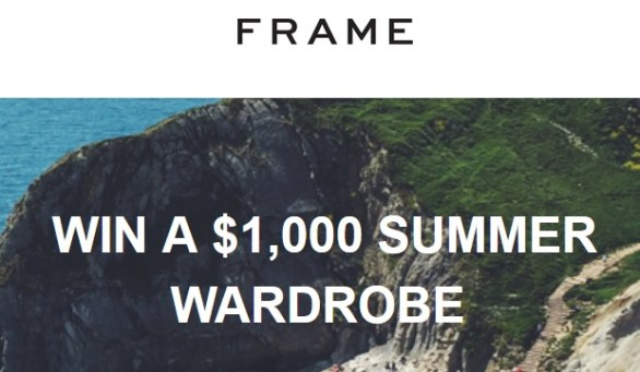 Frame Sweepstakes-Stand To Win A $1,000 frame-store.com Gift Card