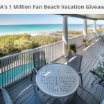 30A's 1 Million Fan Giveaway- Enter To Win An $8,000 Beach Vacation Package, 2 beach chairs, 1 Umbrella, 4 Bicycles and a 2 Hour Beach Bonfire