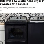 CBC The Goods Wash & Win Contest-Enter To Win A GE Washer And Dryer, A Laundry Basket