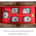 BoardGameTables.com Custom Table Sweepstakes – Stand Chance to Win Custom Game Table Prize