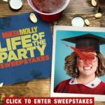 Mike & Molly Life Of The Party Sweepstakes – Stand Chance to Win Roundtrip , Two Passes to Life of the Party Tickets Prize