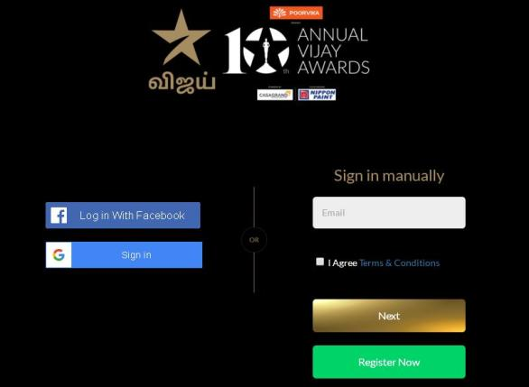 Star Vijay 10th Annual Awards Online Voting 2018 – Details | Check Online
