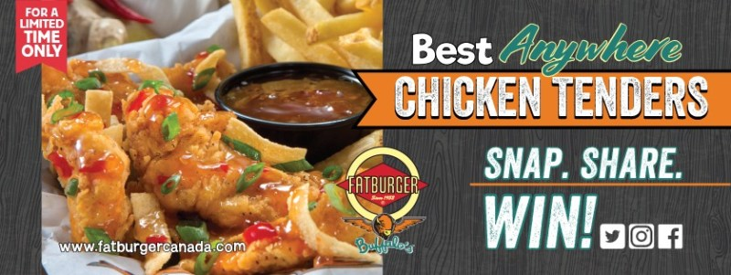 Fatburger Snap Share and Win Contest - Chance To Win Playstation 4 Pro, Galaxy Tab S2, Gift Cards