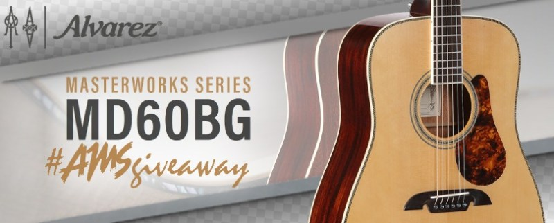 American Music Supply Alvarez Guitar Giveaway-Enter To Win One For Your Collection