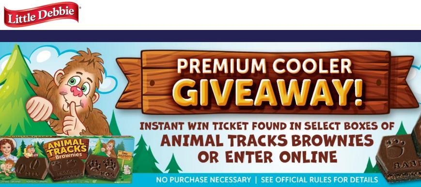 Camp Little Debbie Instant Win Giveaway – Win YETI Tundra
